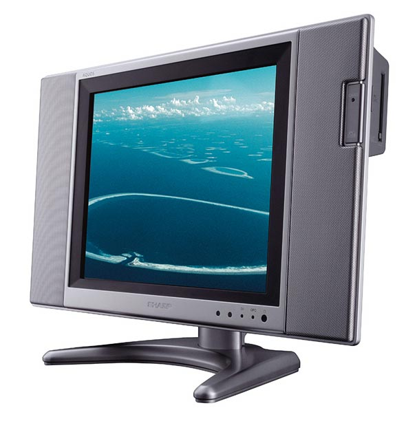 Sharp  AQUOS LC-20B5E televisore LCD con memorie PCMCIA