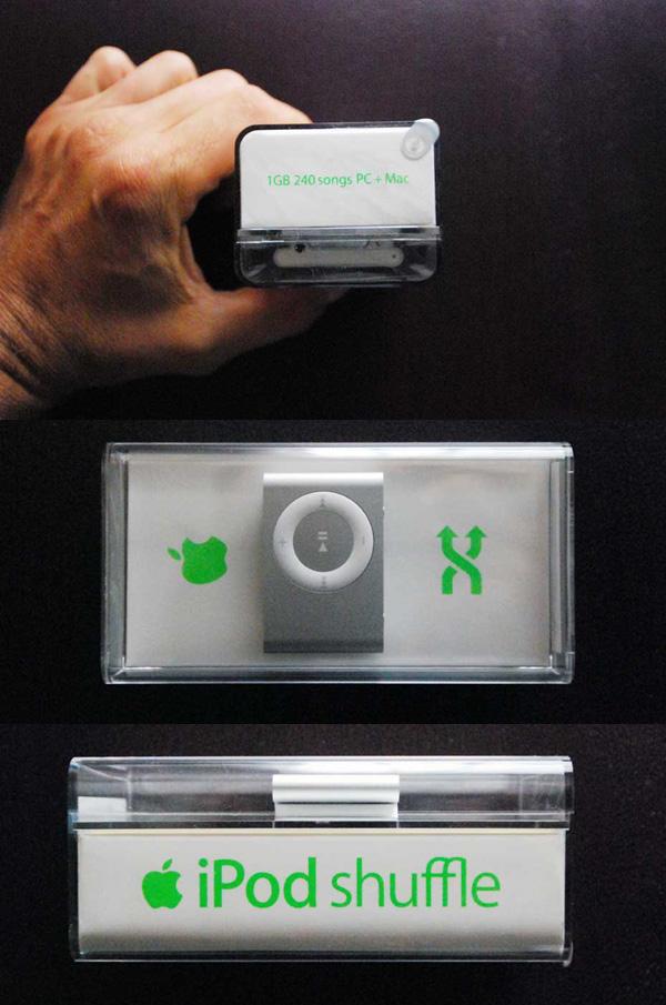 ipod shuffle foto confezione
