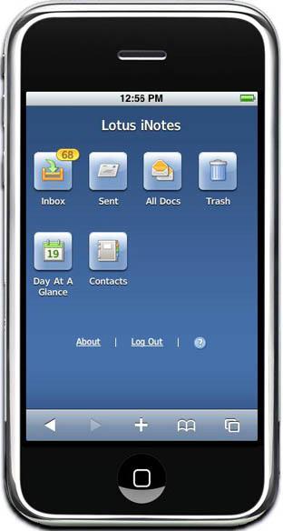 Ibm Inotes Porta Le Email Lotus Notes Su Iphone Macitynet It