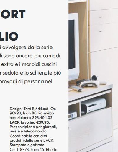 Ikea la petizione contro il nuovo font del catalogo 2010 for Ikea seggiole
