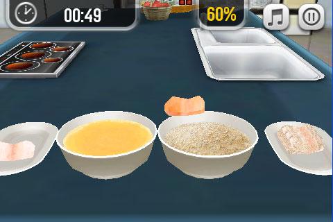 Gameloft pocket chef per divertirsi nella cucina 3d su for Strumenti di cucina