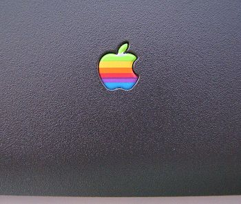 logo apple sul powerbook