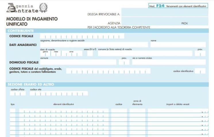 programma f24 agenzia delle entrate