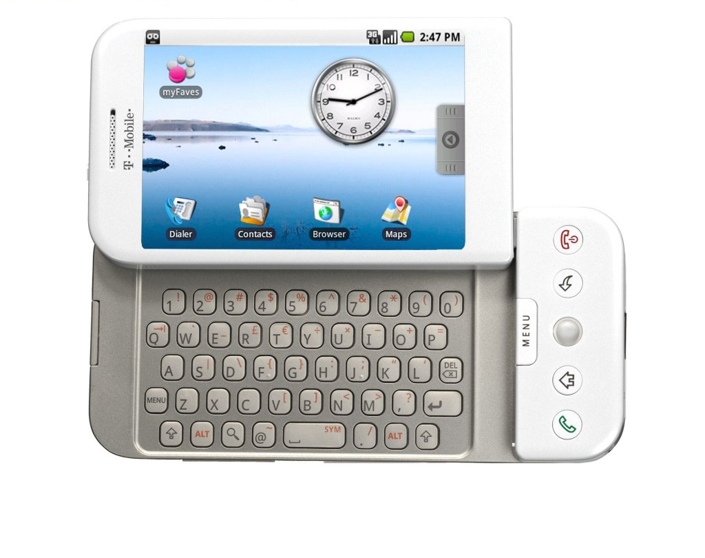 t-mobile g1 primo cellulare Android