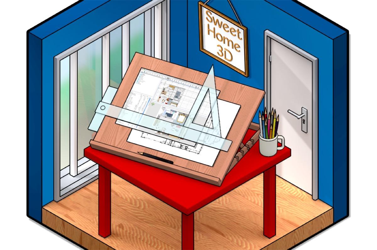 Sweet home 3d la progettazione di interni dal mac for Software gratuito per la progettazione di piani di casa