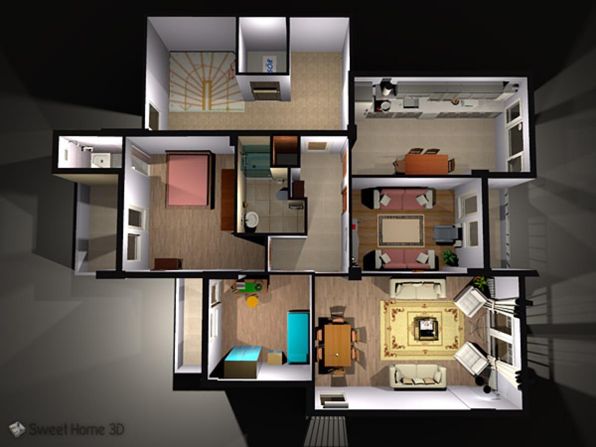 Sweet home 3d la progettazione di interni dal mac for Progettare casa 3d