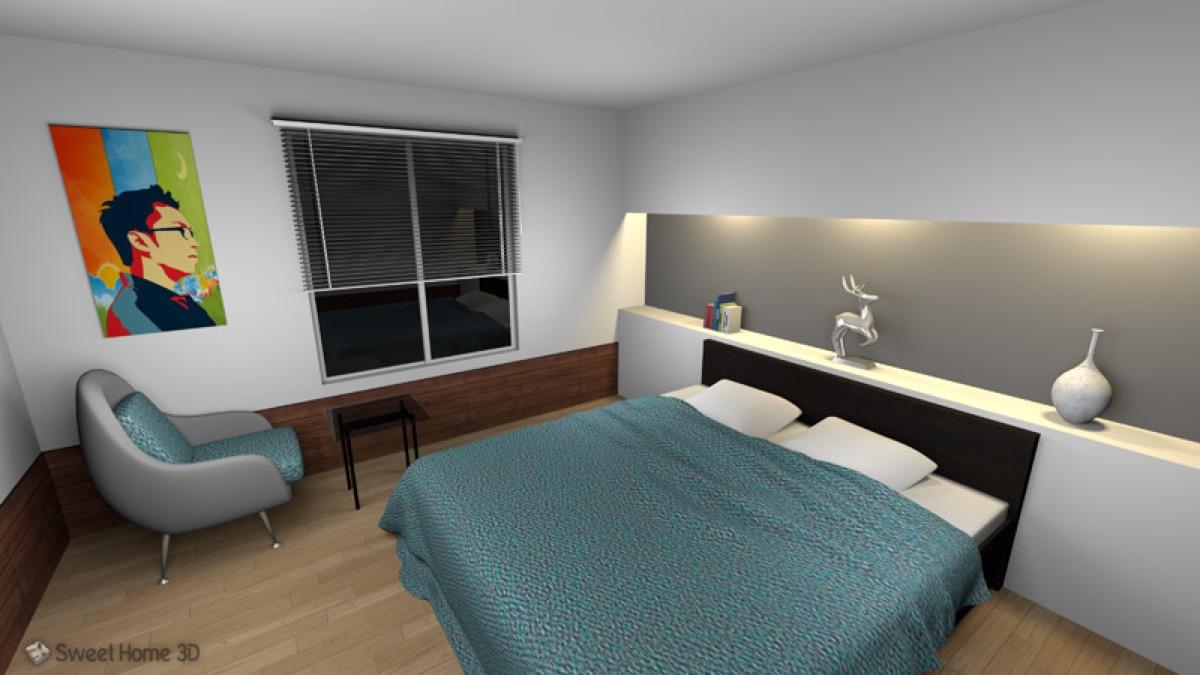 sweet home 3d la progettazione di interni dal mac. Black Bedroom Furniture Sets. Home Design Ideas