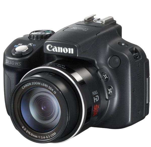 Canon PowerShot SX50, superzoom da 50X, in offerta su Amazon