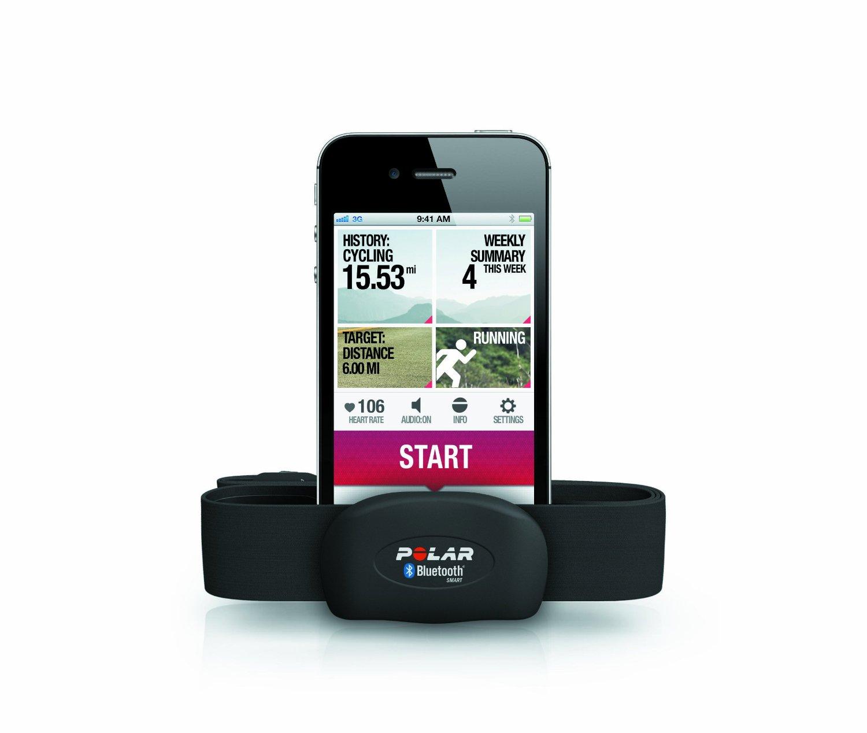 Fascia Cardio Polar Bluetooth 4 per iPhone, iPod touch e nano, su Amazon a 53 euro