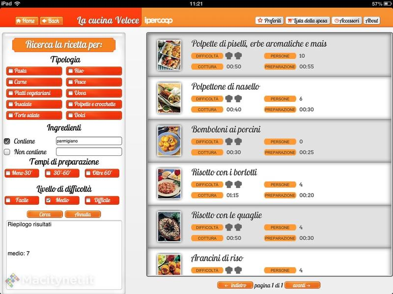 la cucina veloce: tutti gli ebook di ricette ipercoop in una sola ... - Ricette Di Cucina Gratis