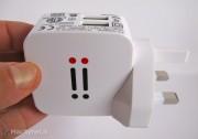 Aiino Travel Charger: il caricatore compatto da viaggio con 2 porte USB