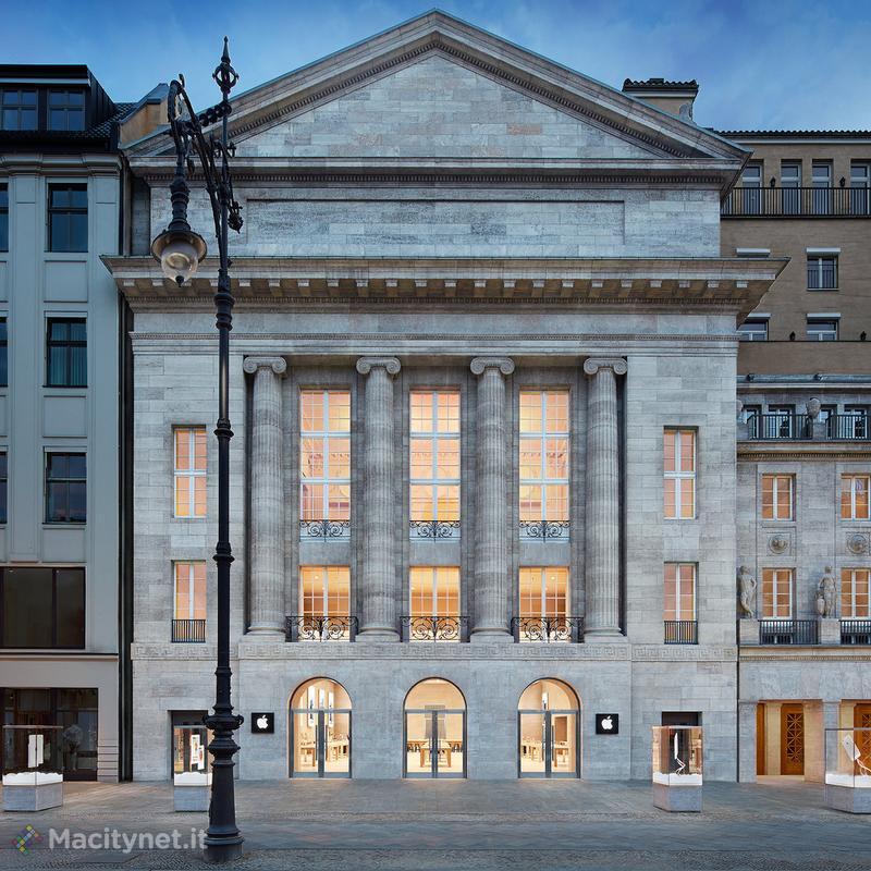 Apple inaugura un nuovo flagship Apple Store a Berlino - Macitynet.it 3a0acee003b1