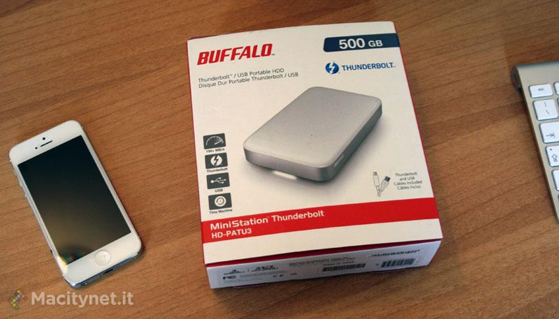 Buffalo MiniStation, in prova l'€™HD con doppia interfaccia Thunderbolt e USB 3