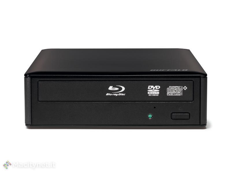 Buffalo presenta il nuovo masterizzatore esterno Blu-ray 16x