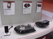 Qui i giradischi LP2GO e QuickPlay che permettono di riprodurre gli storici dischi in vinile e di trasformarli al volo in file MP3. La base Utransfer permette di registrare la musica direttamente su iPhone e iPad