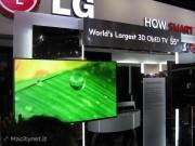 """CES 2012: la super televisione OLED di LG da 55"""" nelle foto e nel filmato di Macitynet"""