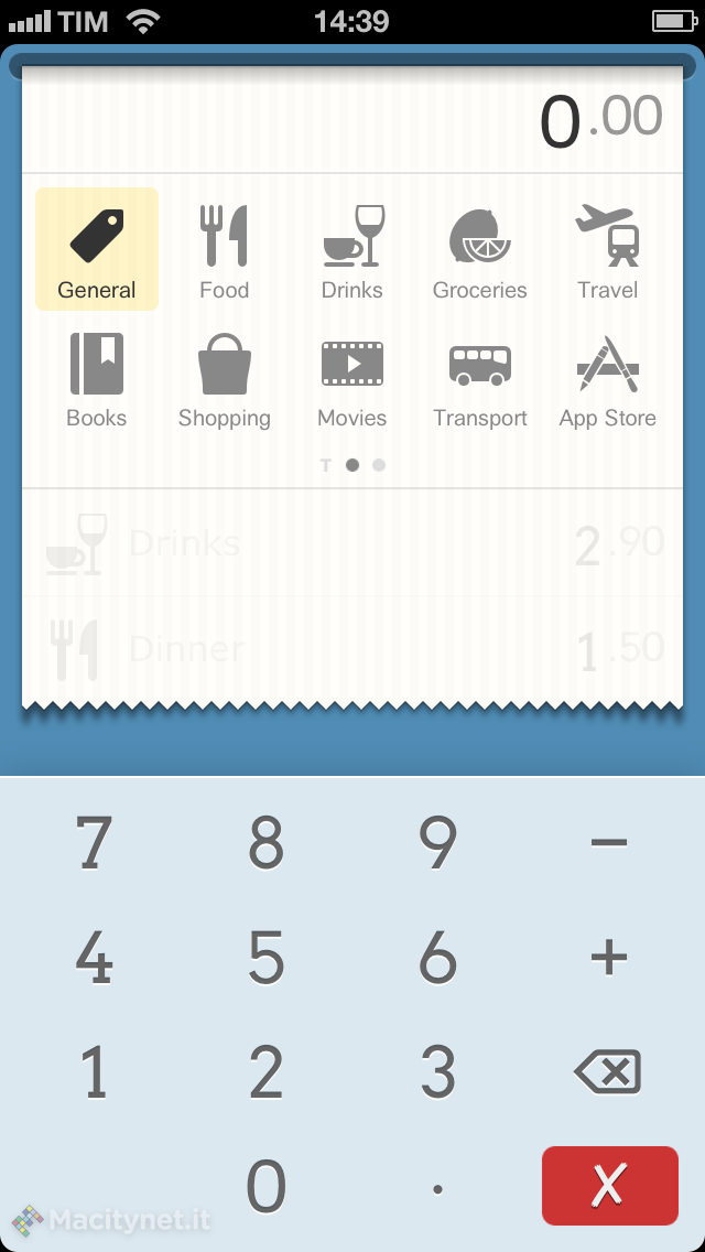 DailyCost, l'app minimalista per le spese quotidiane