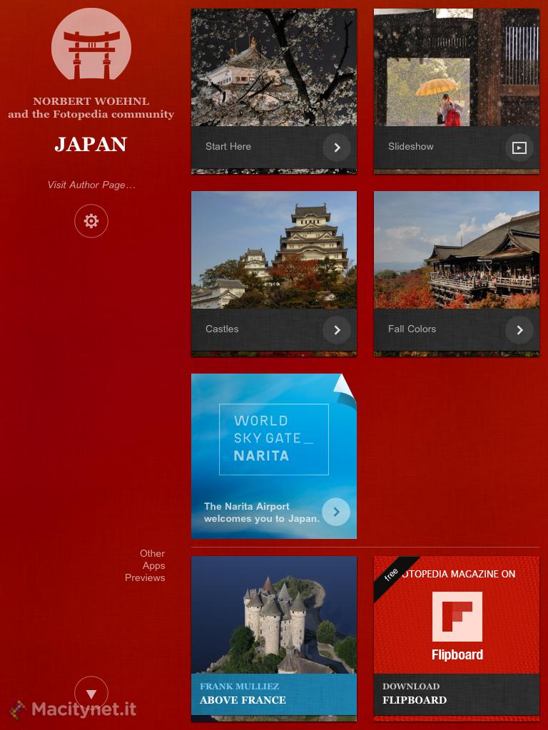 Fotopedia Japan: la magia del Giappone in una app gratuita per iPhone e iPad