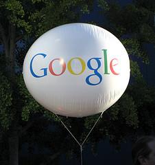 Google, palloni aerostatici per portare Internet ovunque