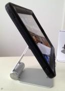 ... anche per accogliere iPad (qui il modello 1) all'interno di ingombranti case di protezione.