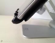 mantenendo la sicurezza che iPad resti sempre al suo posto...