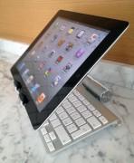 Può essere riposta sotto l'iPad stesso oppure...