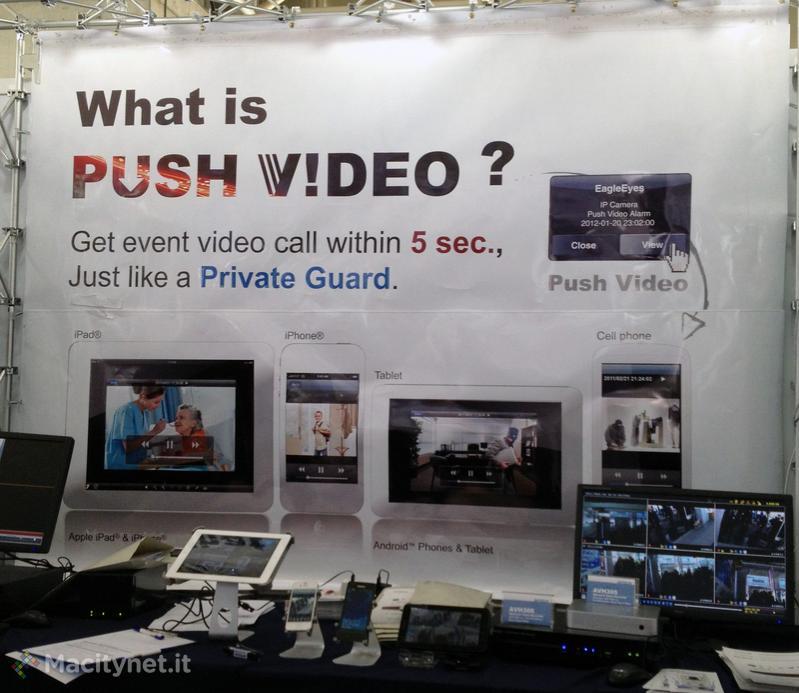 CeBIT 2012: Avtech allarga l'offerta dei suoi modelli di videosorveglianza Push per Mac, iPhone, iPad e Android