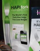CES 2013: anche la posata diventa smart, HAPIfork è la forchetta Bluetooth che salva la linea