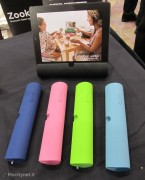 Visto@CES 2013: Zooka è la soundbar versatile per iPad, tablet e portatili