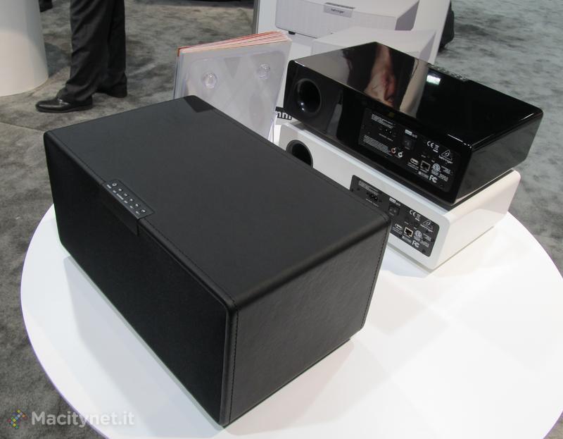 CES 2013: Behringer mostra l'€™OMNI System, speaker, ampli e sub con AirPlay