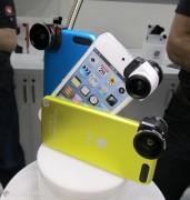 CES 2013, l'€™obiettivo fish-eye olloclip pronto per iPhone 5 e iPod touch 5G