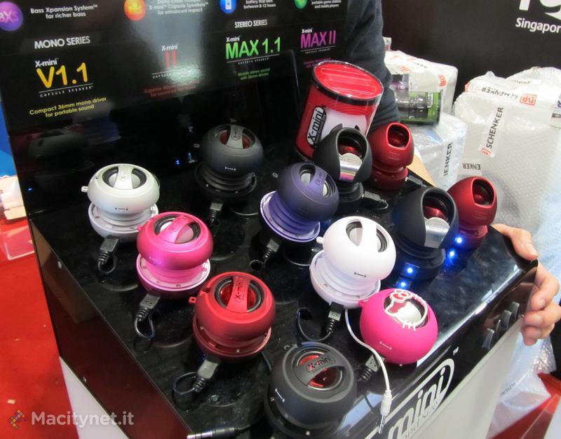 CeBIT 2012: X-mini presenta in Europa KAI, il suo capsule speaker wireless