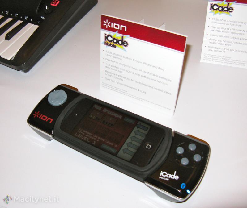 Ces 2012 ion icade mobile e icade jr per trasformare for Mobile per console