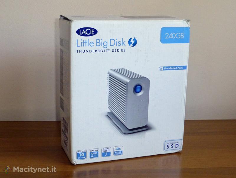 LaCie Little Big Disk Thunderbolt Series: prestazioni top con l'abbinata Thunderbolt e SSD