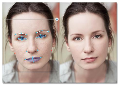 Portrait+ 2.1, un'applicazione per migliorare i ritratti