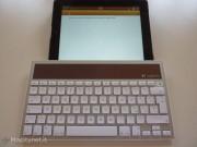 Logitech K760, tastiera solare per Mac, iPhone e iPad alla prova