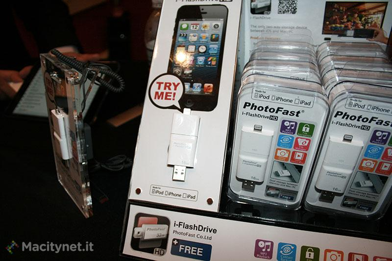 CES 2013, PhotoFast i-FlashDrive è la chiavetta USB per Mac, PC e dispositivi iOS