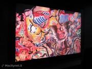 All'interno l'impressionante demo della TV 8K, otto volte la risolzione HD attuale