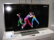 Qui una demo delle TV Aquos LC di nuova generazione
