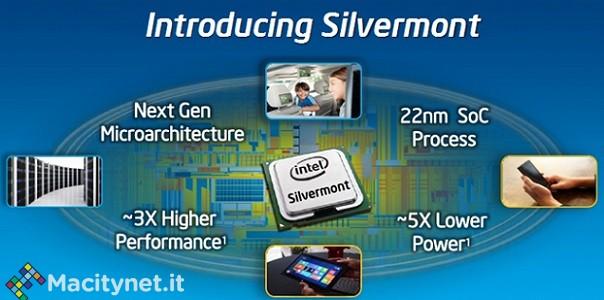 Intel, nuovi dettagli sui futuri Atom