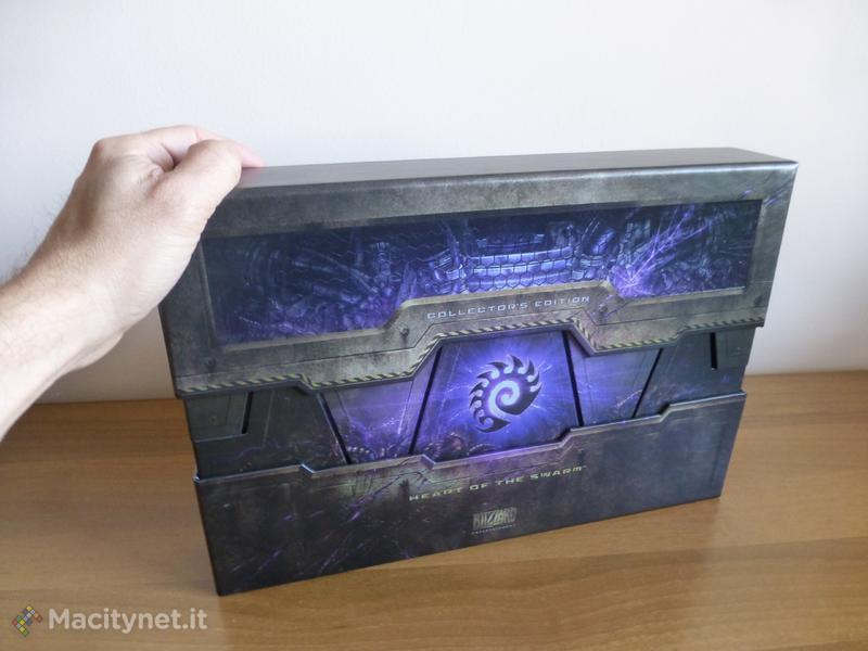 StarCraft II Heart of the Swarm: l'unboxing dell'Edizione Collezionisti