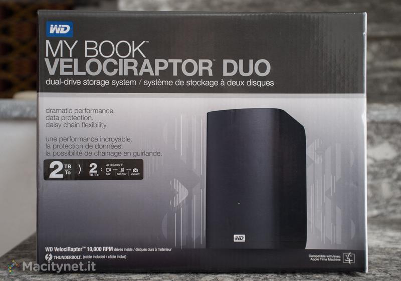 Western Digital My Book VelociRaptor Duo: la recensione del disco fisso con prestazioni da SSD