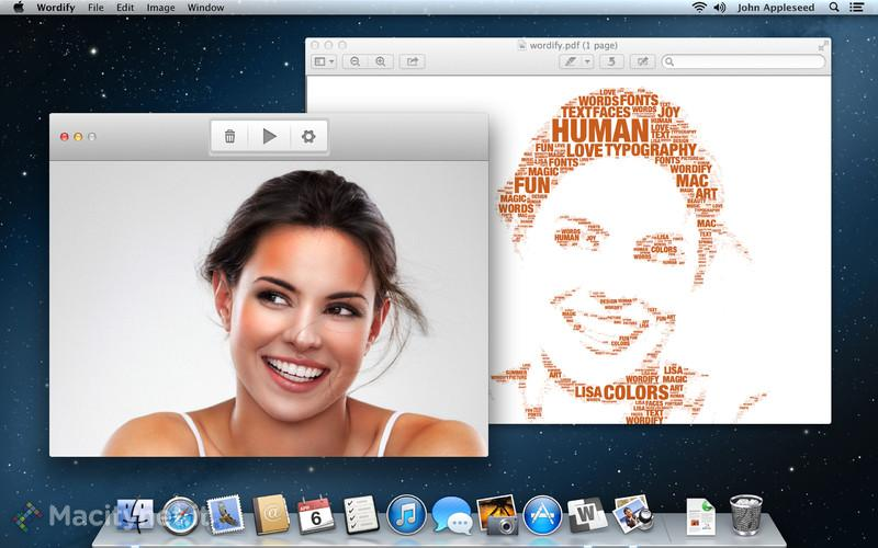 Wordify: trasforma le foto in creativi artwork vettoriali su Mac