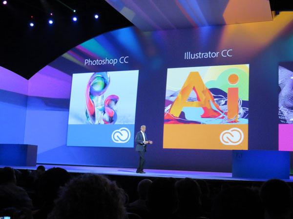 Adobe MAX 2013, Adobe scommette nella creatività sulla nuvola