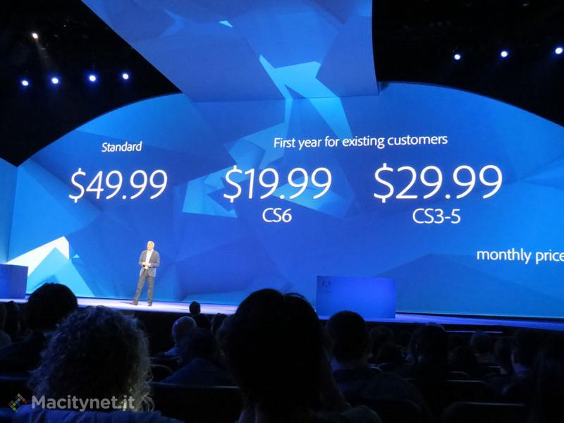 Adobe MAX 2013, la galleria dal Keynote
