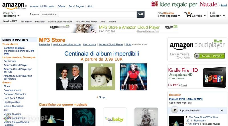Amazon Cloud Player e MP3 Store: come usare il servizio anche su Mac, iPhone e iPad