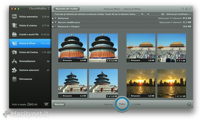 Recensione: CleanMyMac 2, libera il vostro disco fisso da file inutili