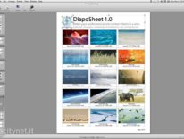 DiapoSheet: crea in automatico cataloghi di foto impaginate su Mac