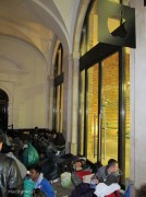 Si dorme sotto i portici di Covent Garden
