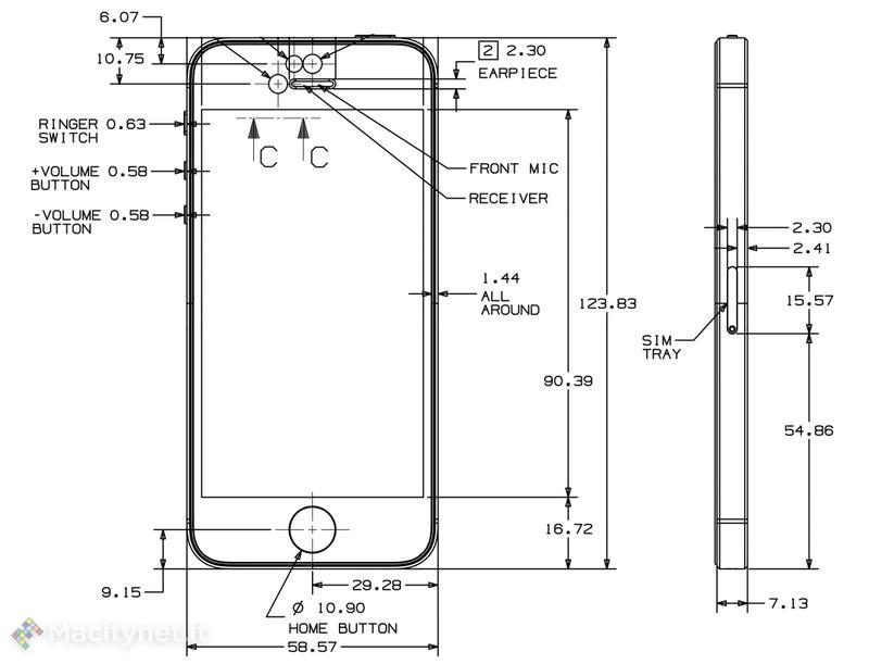 dimensione cover iphone 6